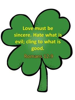 Love Not Luck Christian Bulletin Board