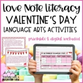 Valentine's Day Reading Activity