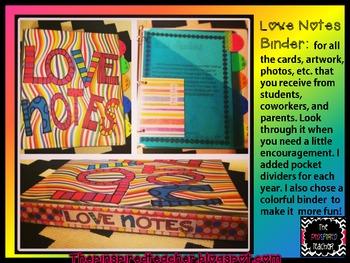 Love Notes Binder Freebie