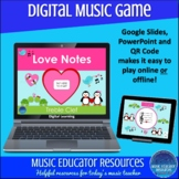 Love Notes | Treble Clef | Digital Music Game