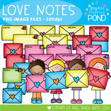 Valentine's Day Love Notes - Love Letter Envelopes and Kids
