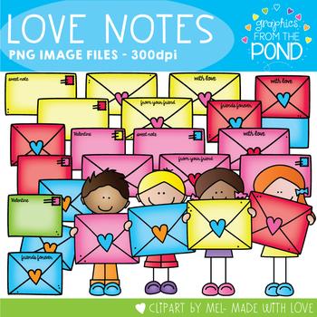 Valentine's Day Love Notes - Love Letter Envelopes and Kids