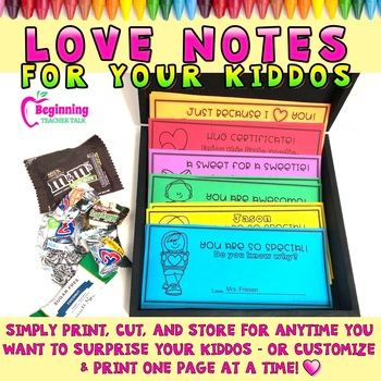 Love Notes for Your Kiddos | Positive Certificates & Surprises