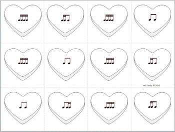 Love Notes with Candy Quotes #2: tika-ti - Music Activities for Valentines Day