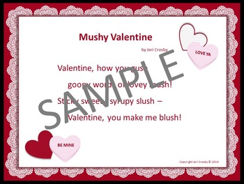 Love Notes with Candy Quotes - Music Activities with a Valentines Day Theme