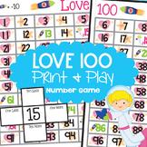 Hundred Chart Game - Ten More Ten Less