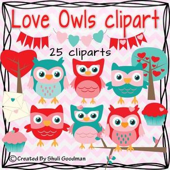 Love Owls clip art!