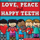 Kindergarten Centers: Groundhog Day, Valentine's Day, and