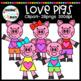 Love Pigs Clipart