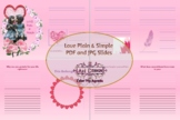 Love Plain and Simple Printables