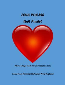 Love Poems Valentine's Day Gr. 7-12