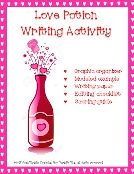 Love Potion Writing Activity
