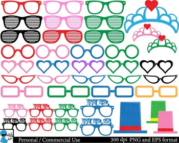 Love Props - Clip Art Digital Files Personal Commercial Use cod210