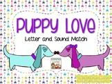 Puppy Love Alphabet and Sound Match
