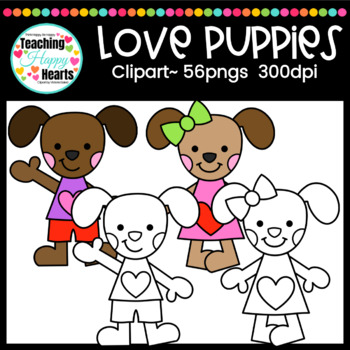 Love Puppies Clipart