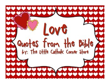 Love: Quotes From The Bible