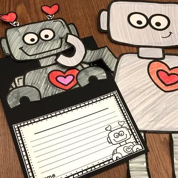 Valentine's Day Craft and Writing