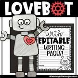 Valentine's Day Craft & Writing | Love Robot Craftivity