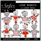 Love Robots {Graphics for Commercial Use}