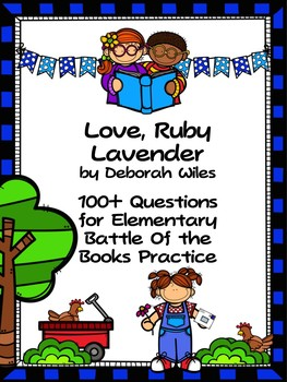 Love, Ruby Lavender - EBOB  Questions