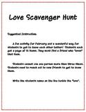 Love Scavenger Hunt