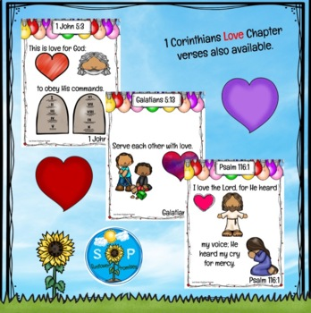 Love Scripture Cards