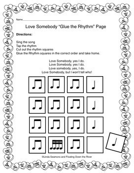 Valentine's Day Song and Rhythm Pack