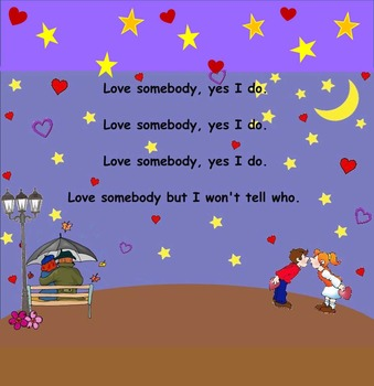 "Love Somebody - Valentine Song-Prep. New Rhythm Pattern ""Ta-a"" (PPT Edition)"