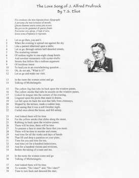 Love Song of J. Alfred Prufrock Questions and Poem