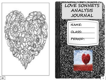 Love Sonnets Analysis Journal