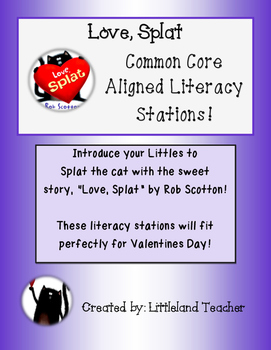 Love, Splat Literacy Stations