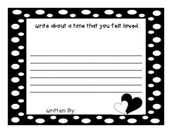 Love, Splat Literacy and Writing Fun