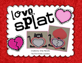 Love, Splat - Reading comprehension craftivity