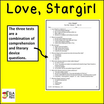 Love, Stargirl Teaching Unit