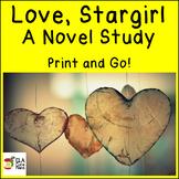 Love, Stargirl ~ A Print And Go Teaching Unit
