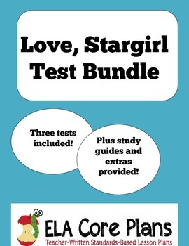 Love, Stargirl Test Bundle ~ includes three tests plus more!