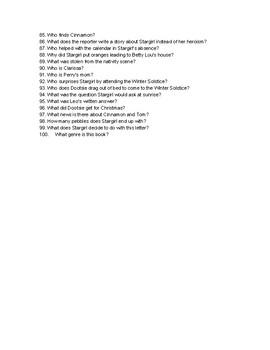 Love, Stargirl Trivia Questions