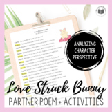 """Love-Struck Bunny"" {A Seasonal Partner Poem for Valentine's Day}"