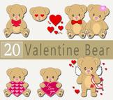 Love Teddy Bears and Couple Teddy Bears