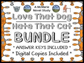 Love That Dog | Hate That Cat Bundle (Sharon Creech) : 2 N