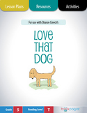 Love That Dog Lesson Plans & Activities Package, Fifth Gra