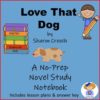 Love That Dog Novel Study Notebook
