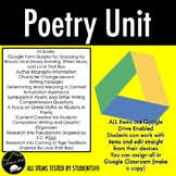 Love That Dog Poetry Unit - Google Drive Enabled