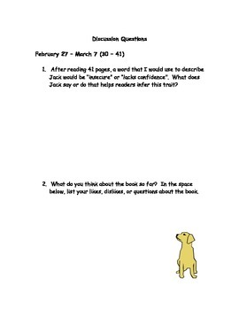 Love That Dog literature guide