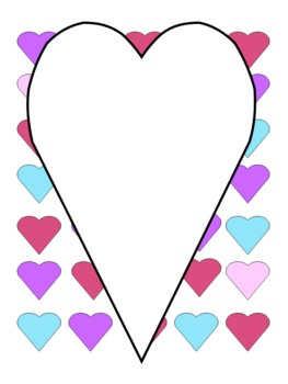 Love Those Hearts Borders and Backgrounds