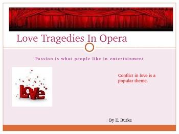 Love Tragedies In Opera