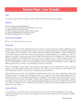 Characterization & Love: Literary Elements & Writing Analysis {COMMON CORE}