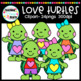 Love Turtles Clipart