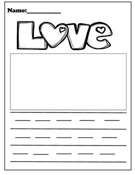 Love Writing Page