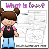 Love Writing Project and Bulletin Board Letters - Valentines Day - Friendship